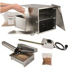 Tom Press table smoker with cold smoke accessory and resistance