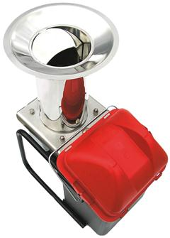 Stainless steel electric apple grinder with bucket 300 kg per hour