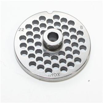 8 mm stainless steel plate for n°22 grinders