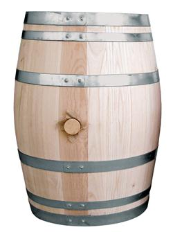 Chestnut barrel - 110 litres
