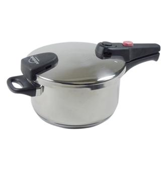 Pressure cooker with bayonet closing 4 litres