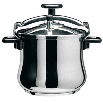 Stainless steel screw pressure cooker 8.5 litres