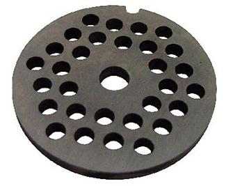 6 mm plate for N° 5 type meat grinder