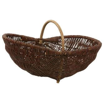 Vitner´s gathering basket in wicker - medium model