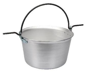 Aluminium cauldron 75 litres