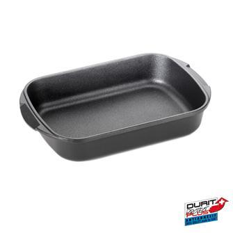 Lasagna dish in non-stick cast aluminium