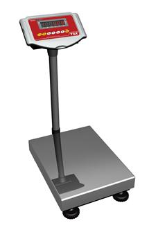 Electronic tower weighing scales 150 kg