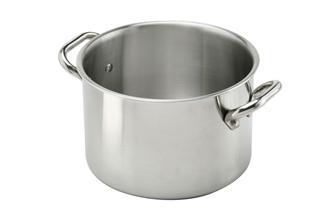 Aluinox induction stew pot in aluminium/stainless steel 28 cm