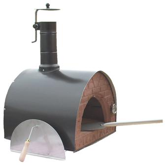 Movable wood oven 52x50 cm