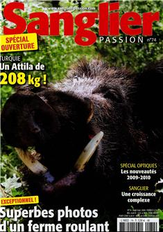 Sanglier passion n°74 (Boar hunting magazine n°74)