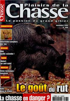 Plaisirs de la chasse n°638 (The joy of hunting n°638)