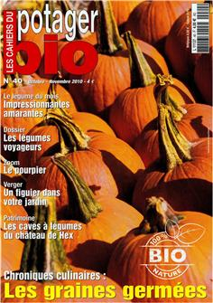 Les cahiers du potager bio n°40 (The organic vegetable garden notebook n°40)