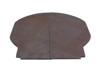 Floor plate for 53 cm wood burner oven