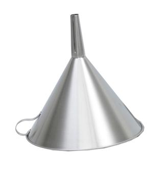 Stainless steel 20 cm filter funnel