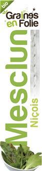 """Pre-sown seed tape of """"""""mesclun niçois"""""""" salad varieties"""