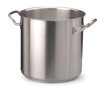 Stainless steel induction hob cooking pot, 60 cm, 155 litres
