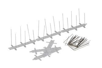 Anti pigeon barriers