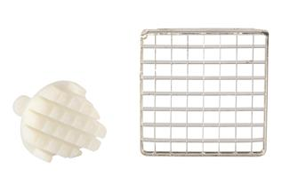Grid and pusher 13 mm for professional chip cutter