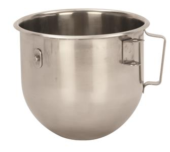 Stainless steel bowl for 5 litre mixer blender
