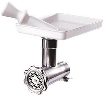Meat grinder accessory for Swedish food processor