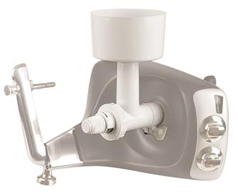 Flour milling accessory for Swedish food processor
