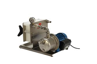 Filter pump with 7 plates for food liquids