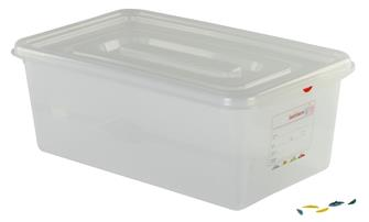 Hermetic plastic box Gastronorm 1/1. Capacity: 28 litres, Height: 20 cm