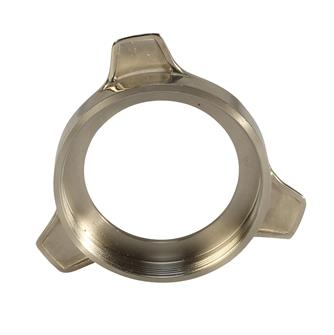 Ring nut in stainless steel for type 22 Reber stainless steel grinder