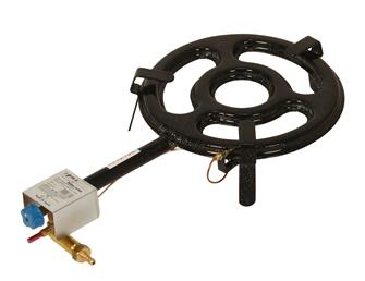 Professional paella burner 30 cm with thermocouple