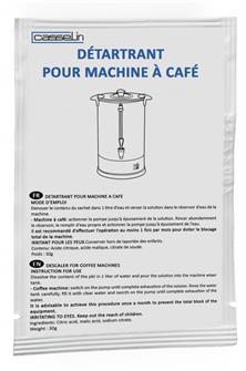Descaler for coffee percolator