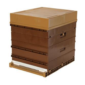 Plastic Dadant 10 frame hive
