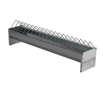 100 cm galvanized feeder for poultry