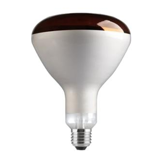 250W infrared light bulb aluminised heating