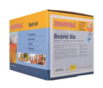 Malt beaver-ale kit for 20 liters of beer