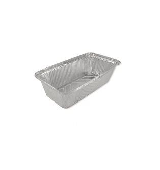 100 aluminium containers - 900 grammes