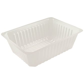 250 plastic containers - 1500 g