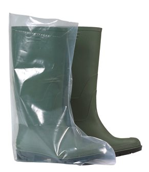 On-boots transparent polyethylene by 50