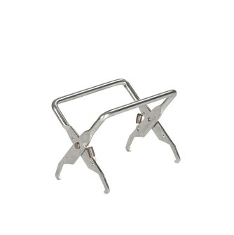 Honeycomb frame lifter tongs