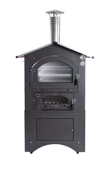 Outdoor wood oven measuring 80x65 cm