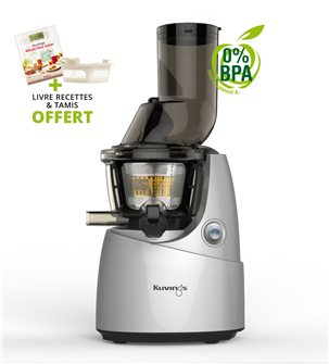 Kuving´s electric juicer with wide opening - grey