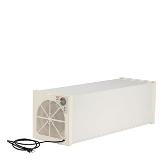 Tunnel food dehydrator dryer for 10 trays with thermostat.