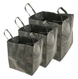 Multifunctional garden bags of 70 l. 100 l. and 170 l.