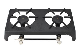 Cast iron hot plate - 2 rings