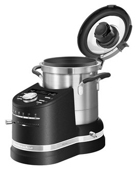 Culinary robot cooker all-in-one black