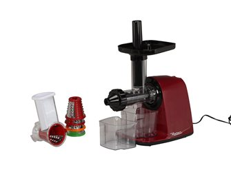 Reber horizontal juice extractor with grater
