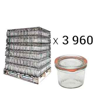Weck verrines 80 ml per pallet 3960