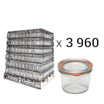 Weck verrines 80 ml per pallet 3960