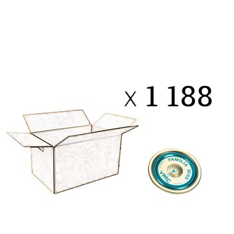 Capsule Familia Wiss 82 mm per carton of 1188