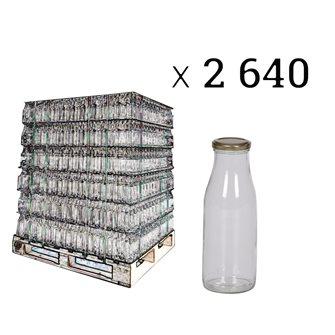 Juice bottle, 1/2 l per pallet of 2640 pieces