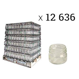 Glass jars 41 ml twist off by 12636 pieces